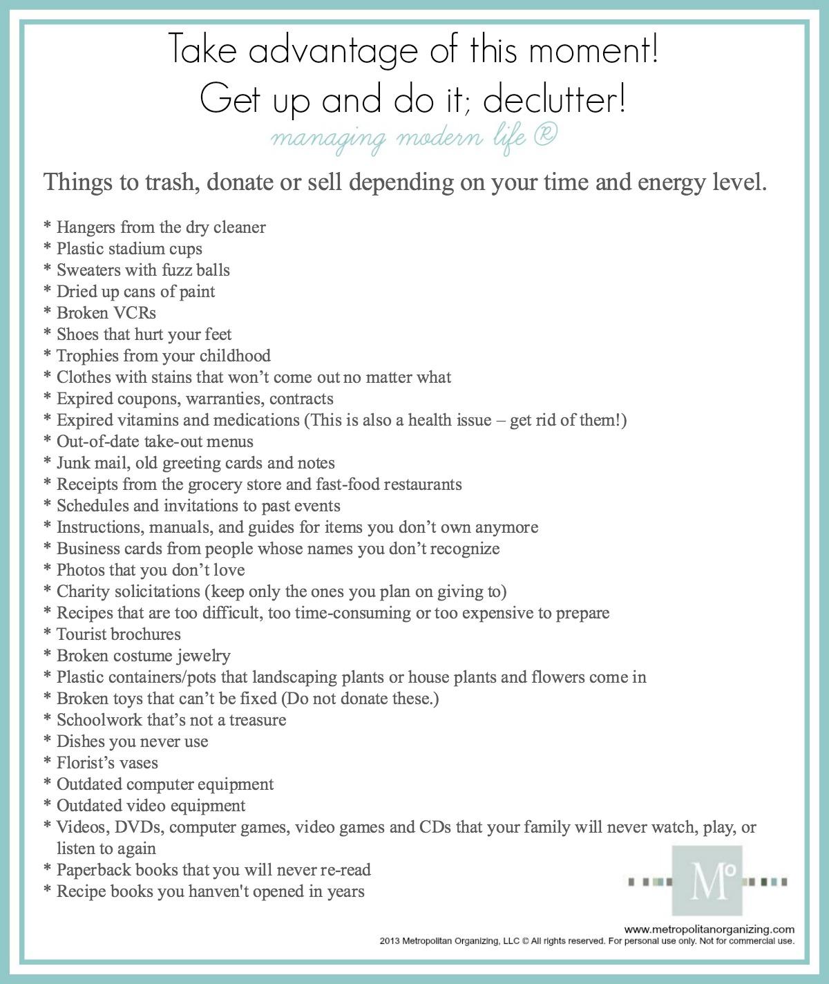 zen mckenzie declutter your home fast