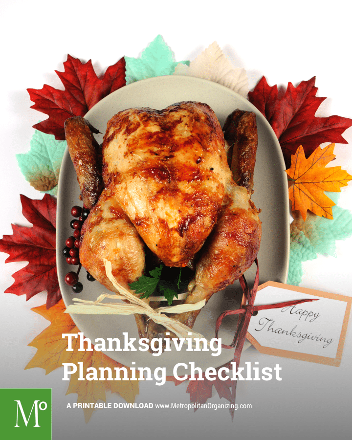Step-by-Step Thanksgiving Checklist