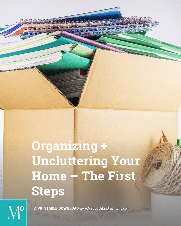 List of Questions to ask when Organizing, Decluttering, Keeping, Donating | Metropolitan Organizing®