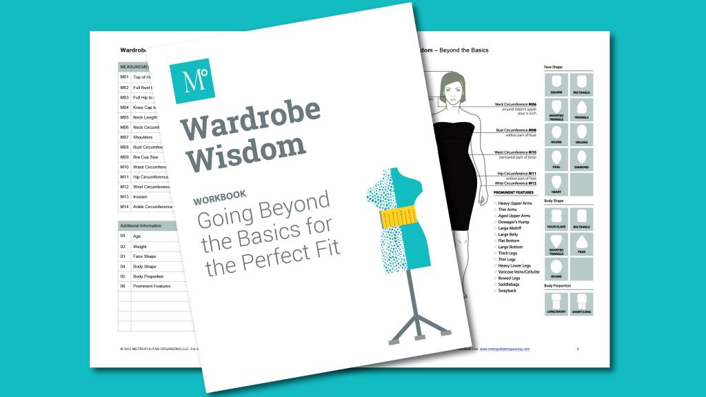 Wardrobe Wisdom Spread Body Measurements for Perfect Fit