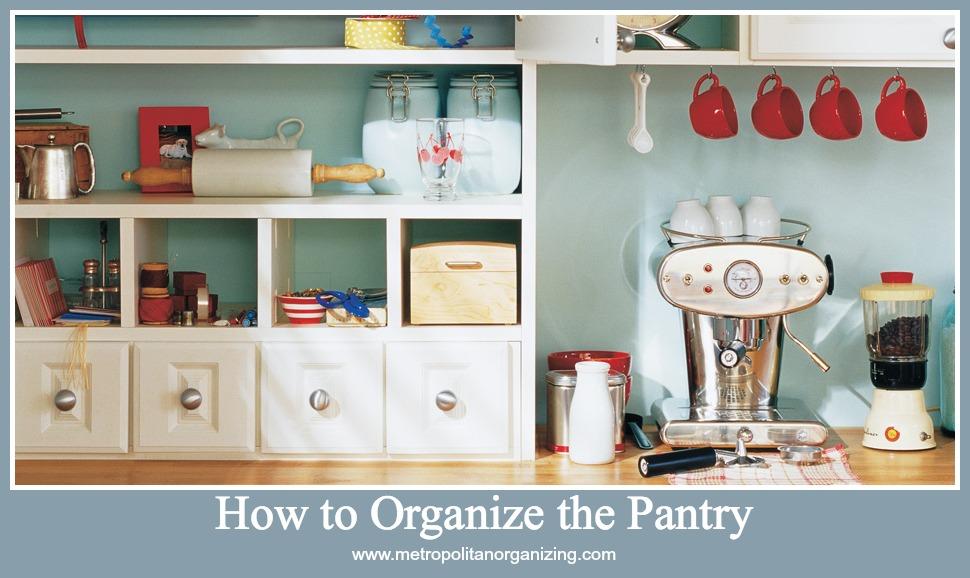 how to organize the pantry Geralin Thomas