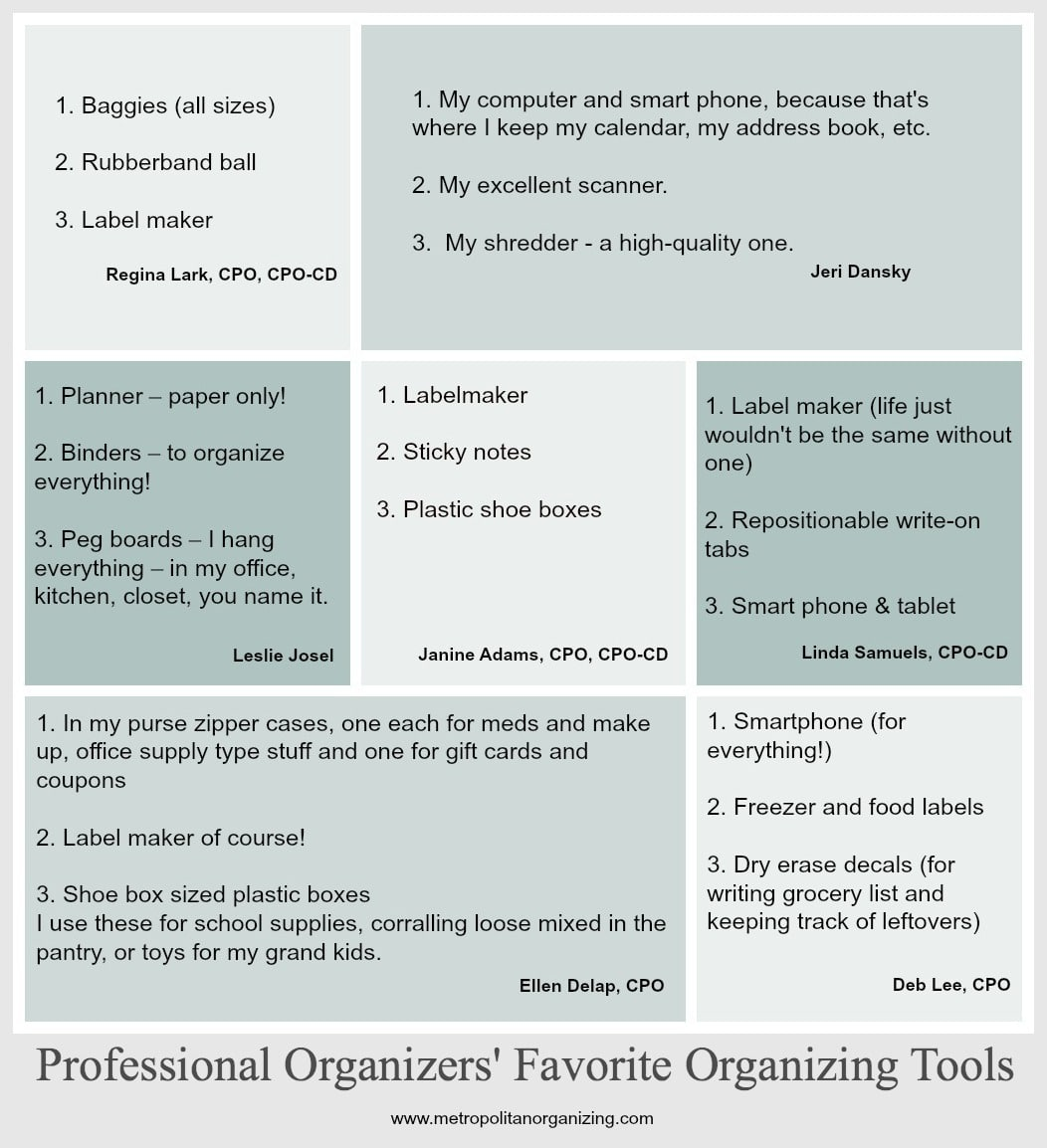 Professional organizers favorite organizing tools reheart Images