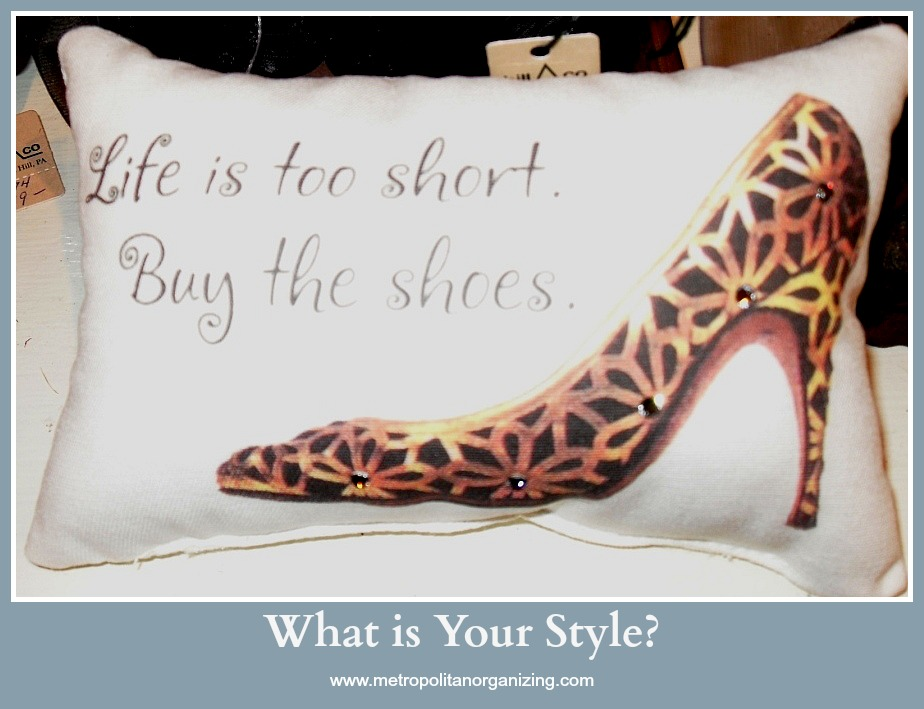 My Style - Sensible. Geralin Thomas Professional Organizer Raleigh, Cary NC
