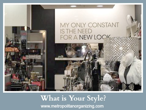 My Style - Sensible - Geralin Thomas - Professional Organizer Raleigh Cary NC
