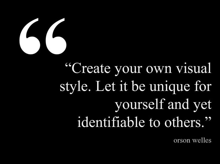 creating your personal style