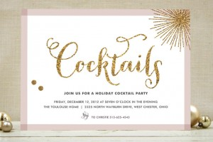 Holiday Cocktail Party Tips