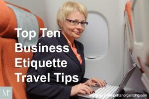 Top Ten Business Etiquette Travel Tips