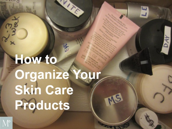 Organizing Cosmetics Geralin Thomas