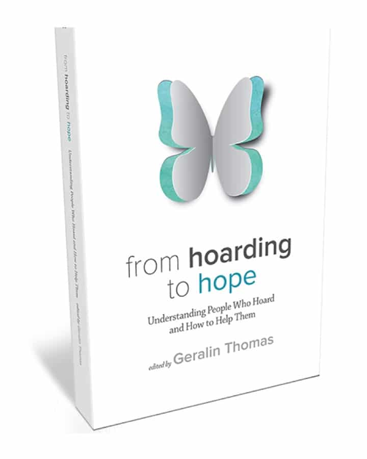 Butterfly Book cover From Hoarding to Hope