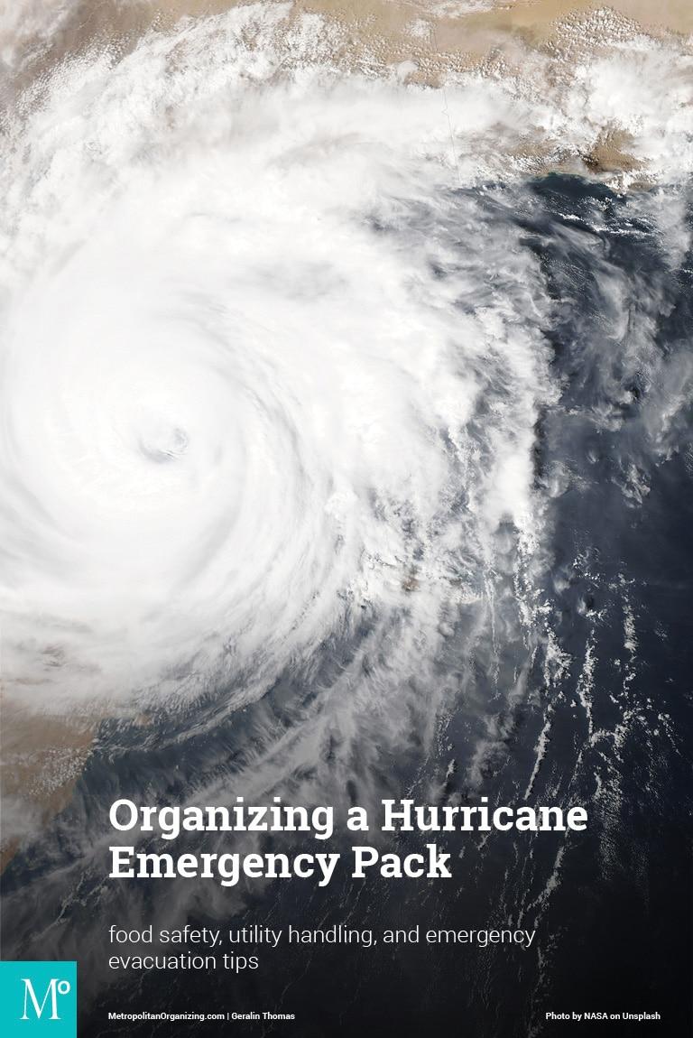 NASA satellite view of a large hurricane
