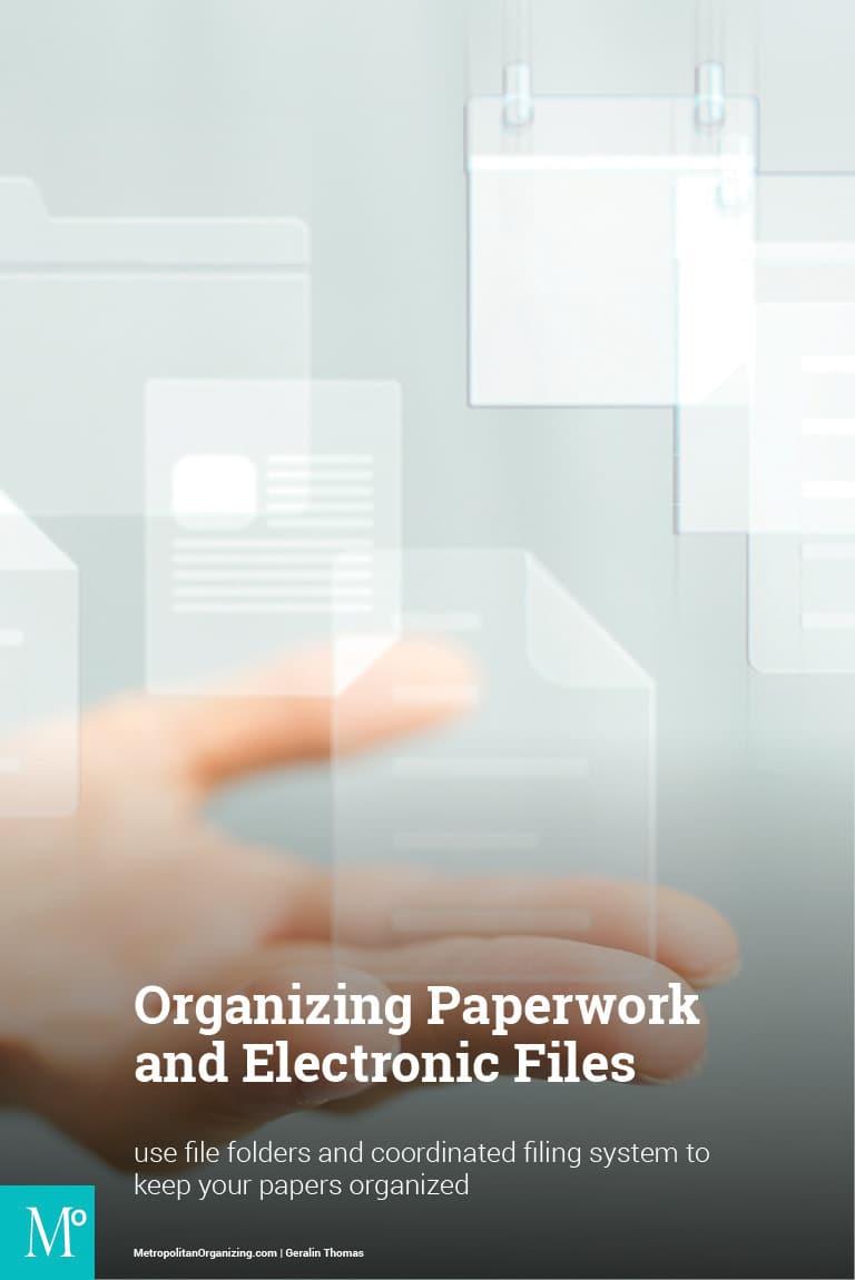 Transparent graphics of a calendar, file folder and paper floating on a light back