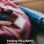 Packing For a NAPO Conference:Checklist