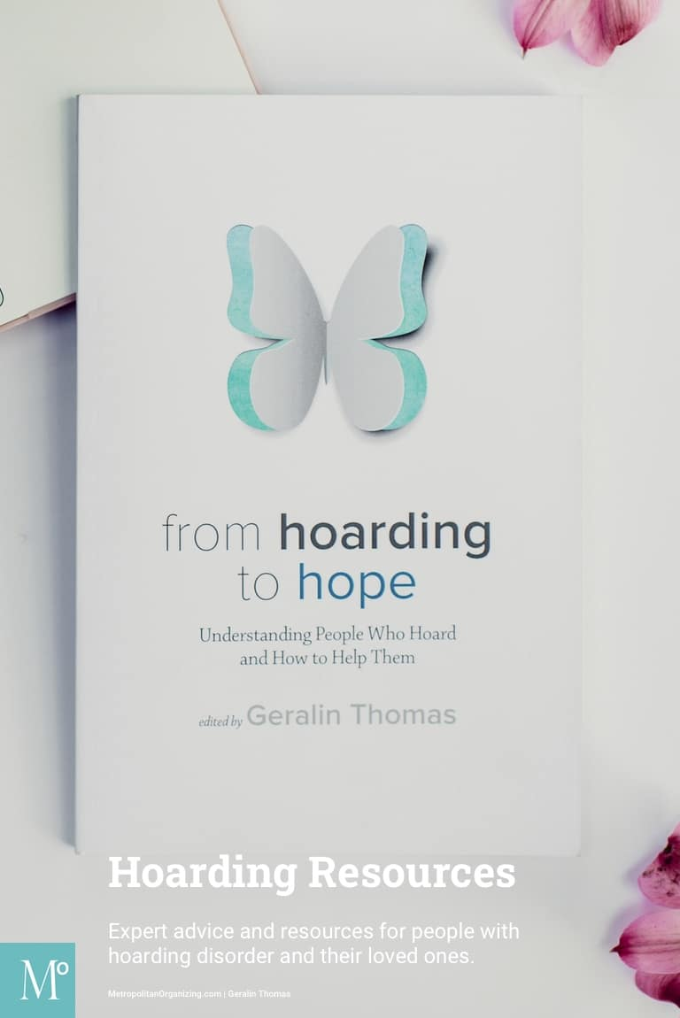 hoarding to hope book cover as hoarding resources
