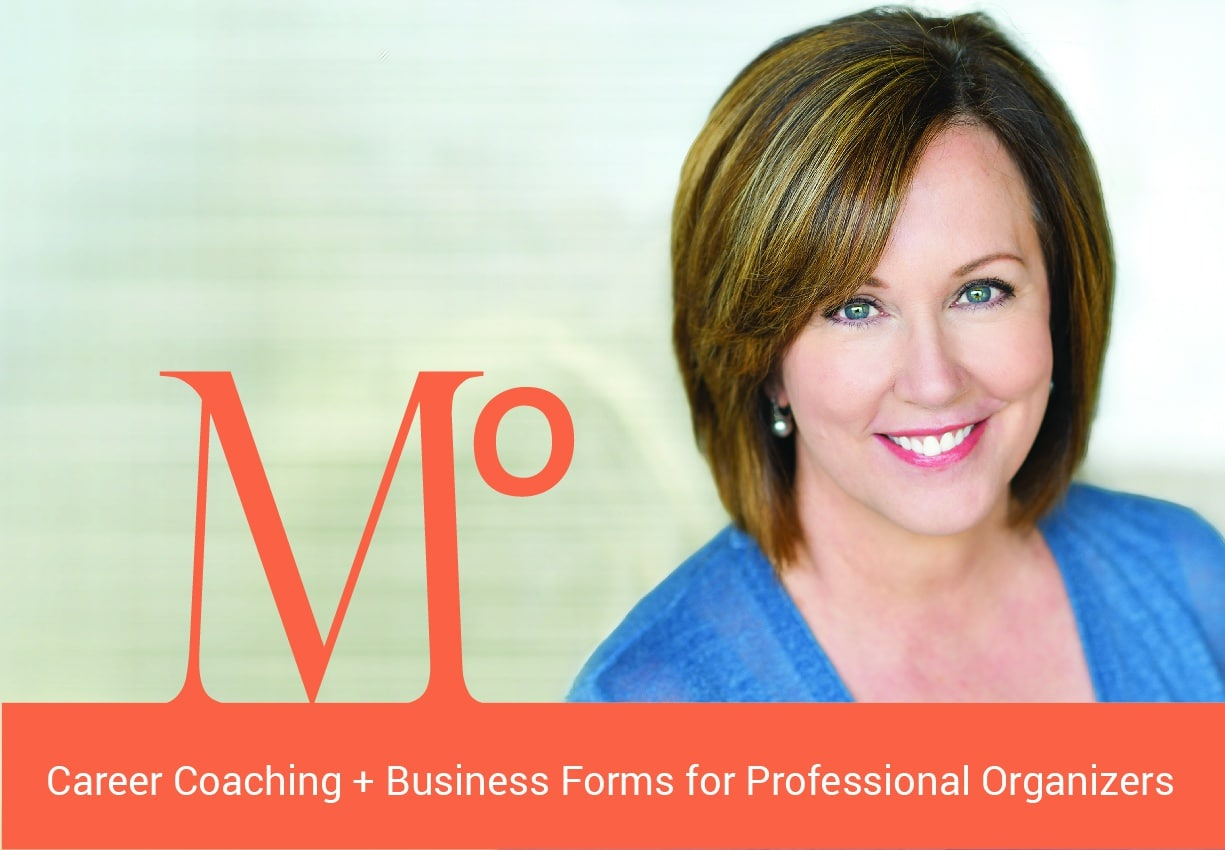 Geralin Thomas career coaching for professional organizers ad