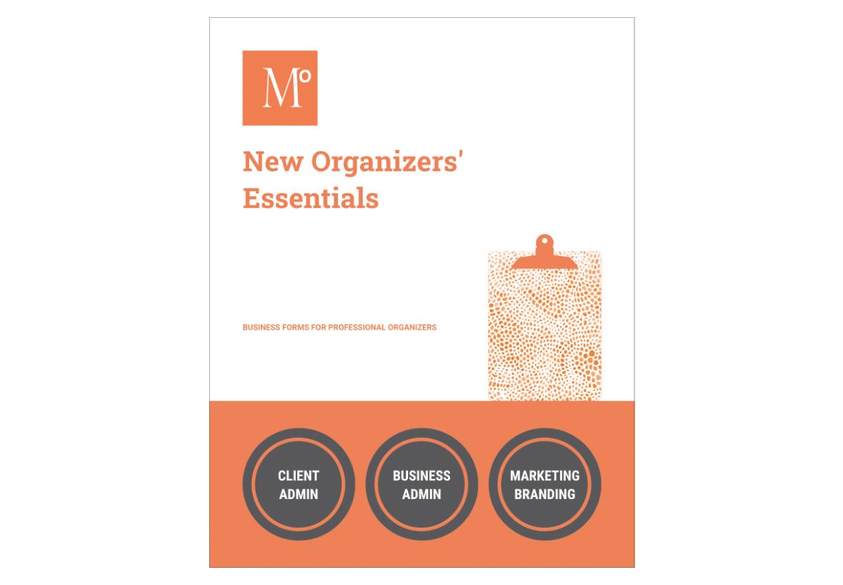 New Organizers' Essentials - Details